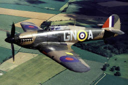A nicely restored Hurricane